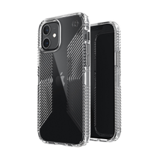 Speck Presidio Perfect Clear Grip Cases for Apple iPhone 12/iPhone 12 Pro