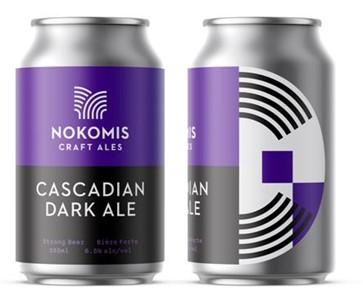 Nokomis Craft Ales Nokomis Cascadian Dark Ale 1420ml