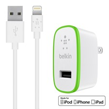 Belkin BOOST UP 2.4A Wall Charger with Lightning Cable