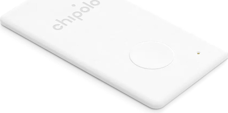 Chipolo - Card Bluetooth Item Finder 2 PACK White