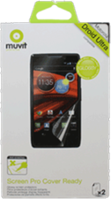 Muvit Motorola Droid Ultra Clear Cover Ready Screen Protector (2PK)