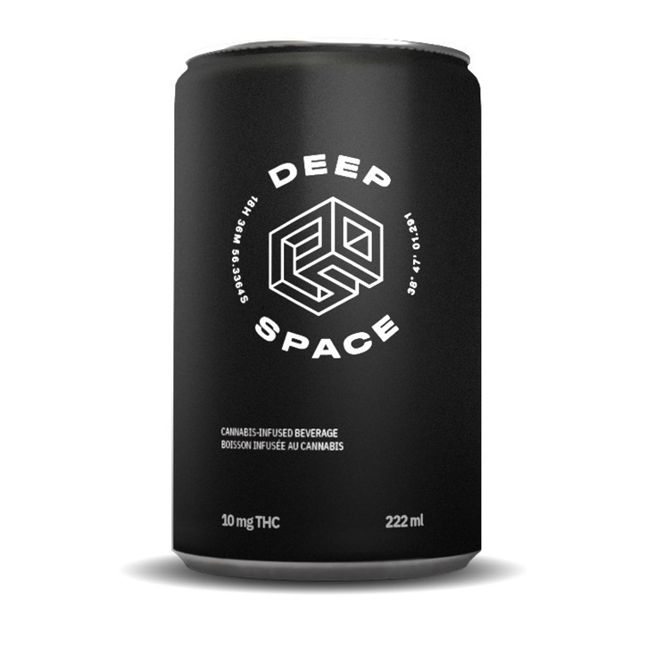 THC Sativa Soda - Deep Space - Soft Drink