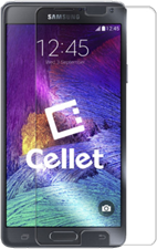 Cellet Galaxy Note 4 Premium Tempered Glass Screen Protector