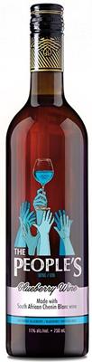 Minhas Sask Ventures The People's Blueberry Wine 750ml
