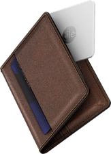 Nomad Slim Wallet with Tile