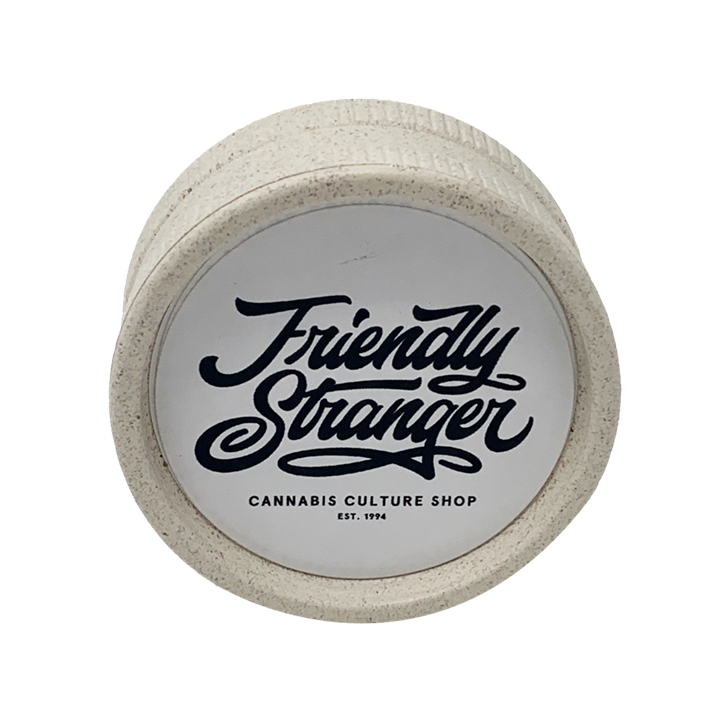 Friendly Stranger, 2 Piece Hemp Grinder