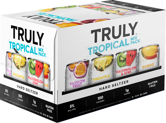 Wett Sales & Distribution Truly Hard Seltzer Tropical Mixed Pack 4260ml