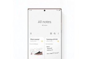 Image of sketch on the Samsung Note