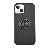 Uunique London iPhone 13 Uunique Black Slim Ring Military Protection Case