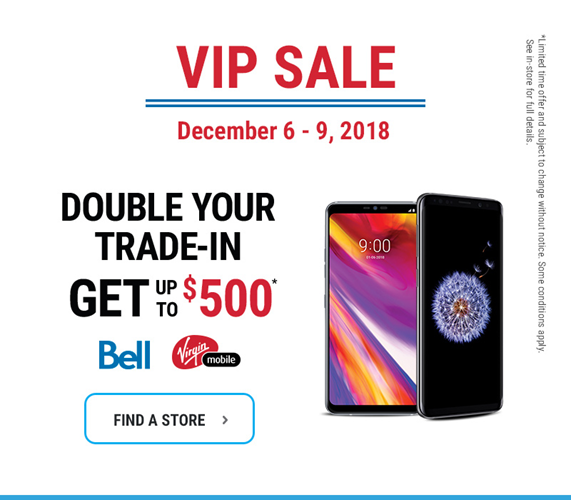 Double your trade-in