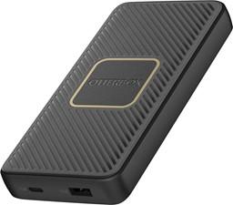 OtterBox - 10,000mAh Dual Port USB-A (12W)+USB-C PD (18W) Portable Power Bank w/10W Qi Charging