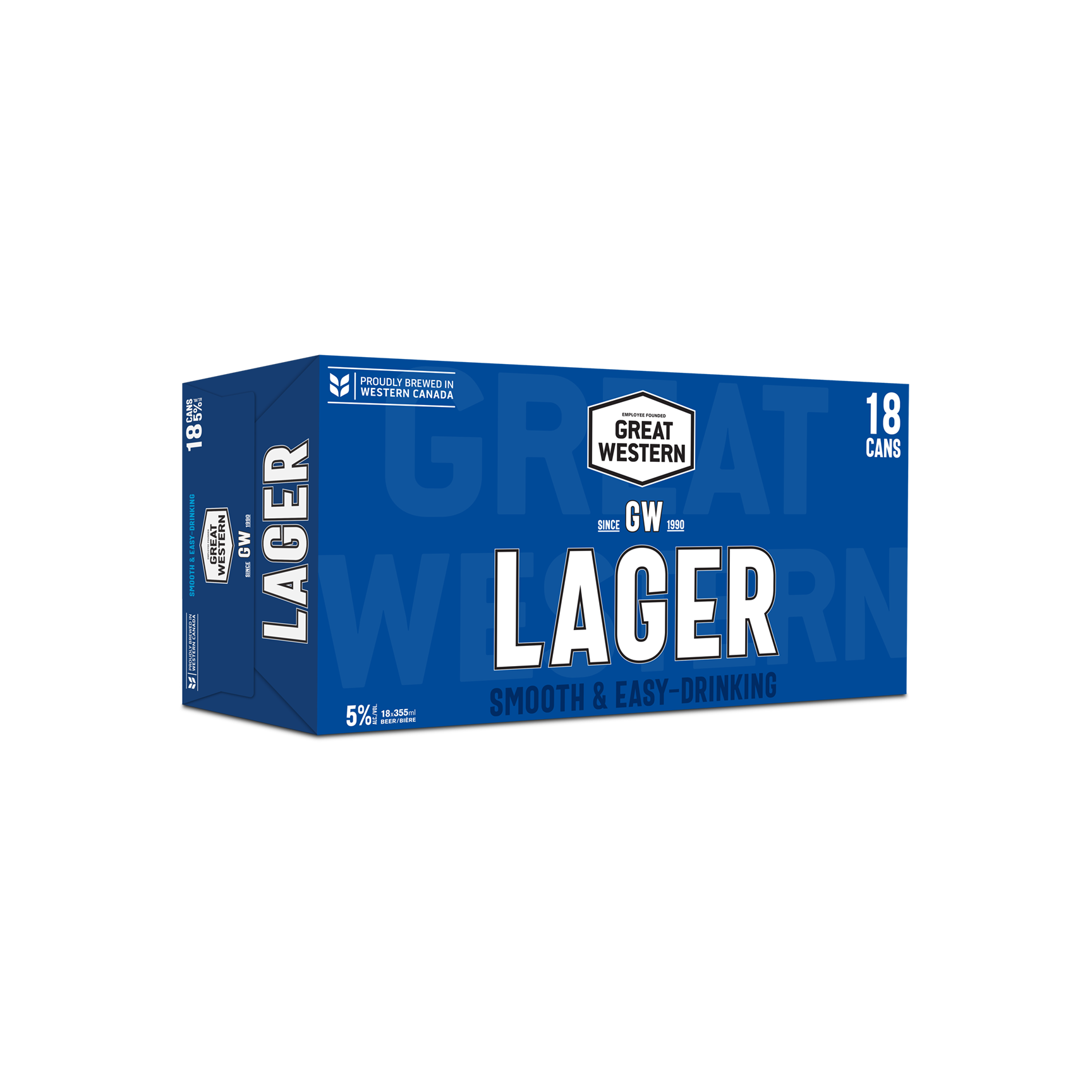 18C Great Western Lager 6390ml