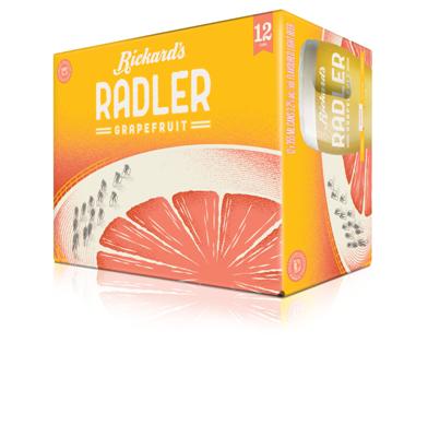 Molson Breweries 12C Rickards Radler 4260ml
