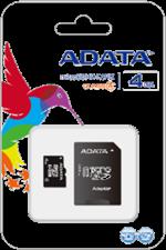 A-Data Class 4 microSD Memory Card w/ Adapter