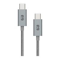 PureGear USB-C to USB-C Braided Charge and Sync Cable (120cm)