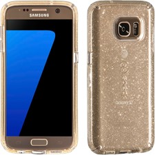 Speck Galaxy S7 Candyshell Clear Glitter Case