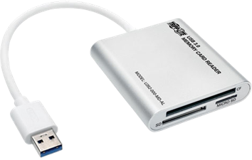 Tripp Lite USB 3.0 Multi-Drive Memory Card Reader/Writer