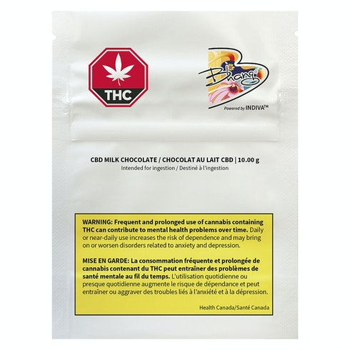CBD Milk Chocolate - Bhang - Edible
