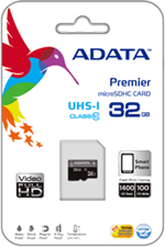 Adata ADATA microSDHC Class 10 Memory Card with SD Adaptor