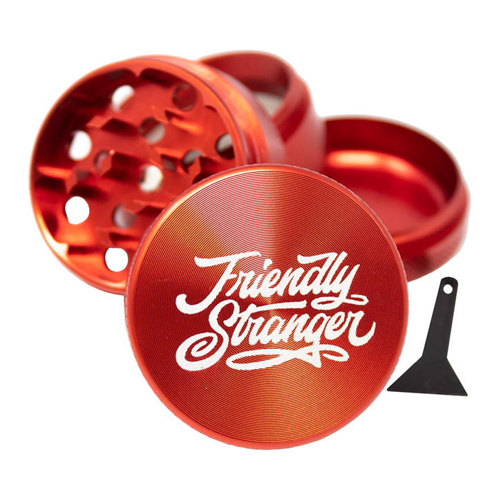 "Friendly Stranger, 4 Piece 1.5"" Grinder"