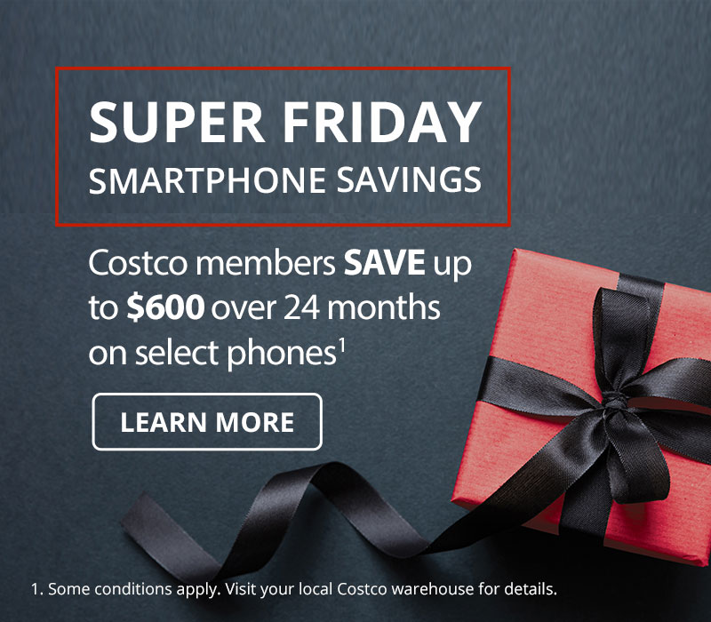 Costco members save up to $600 over 24 months on select phones