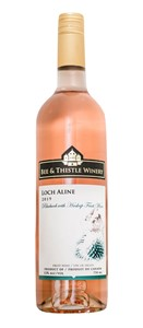 Bee & Thistle Winery Inc. Bee & Thistle Loch Aline Rhubarb Haskap 750ml