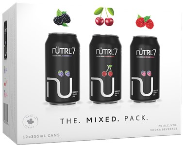 Mike's Beverage Company 12C Nutrl Vodka Soda 7% Mixed Pack 4260ml