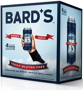49th Parallel Group Bards Gold Gluten Free Beer 1892ml