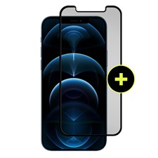 Gadget Guard - Black Ice Plus Glass Screen Protector For Apple Iphone 12 Pro Max - Clear