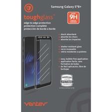 Ventev - Toughglass Edge To Edge Tempered Glass For Samsung Galaxy S8 Plus
