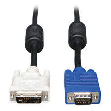 Tripp Lite 10' DVI to VGA High Resolution Cable with RGB Coax