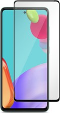 Blu Element - Galaxy A52 Antimicrobial 3D Curved Glass Screen Protector w/Installation Kit