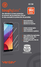 Ventev LG G6 toughglass Screen Protector
