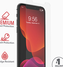 Zagg iPhone 11 Pro / Xs / X InvisibleShield Glass Screen Protector