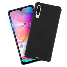 Case-Mate Protection Pack Tough Case Plus Glass Screen Protector For Galaxy A70