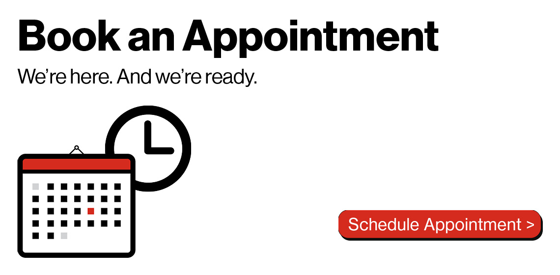 Book an appointment and skip the line!