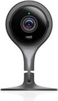 Google Nest Cam Indoor black smart home security camera