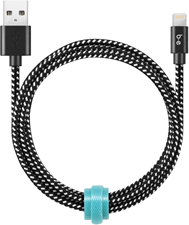 Blu Element 4ft Lightning Braided Charge/Sync Cable