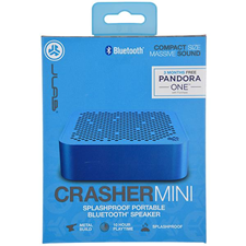 JLab Audio Crasher Mini Bluetooth Speaker with Splashproof Metal Body