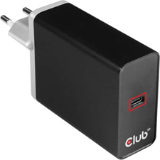Club3D - USB-C Power Charger up to 27W USB-C Charging Cable Inclusive Black