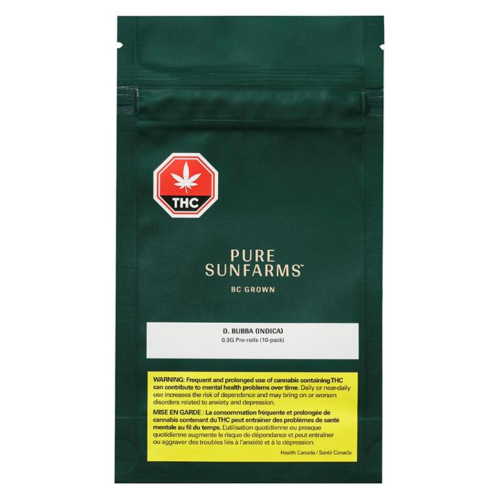 D. Bubba - Pure SunFarms - Pre-Roll
