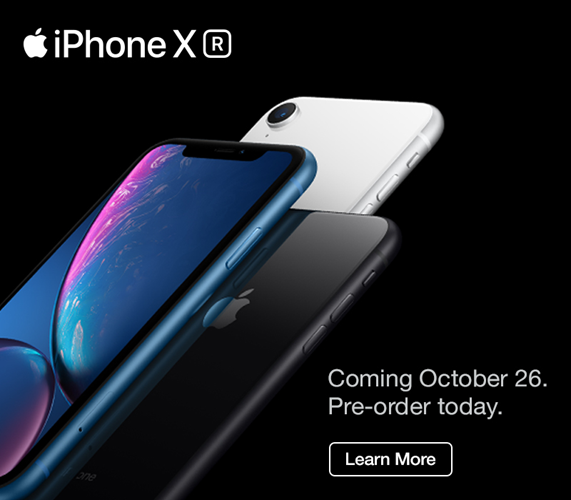 iPhone XR Pre-order now