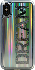 Candywirez iPhone X Liquid Glitter Case