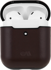 CaseMate Hookups Leather Apple Airpod Case And Neck Strap