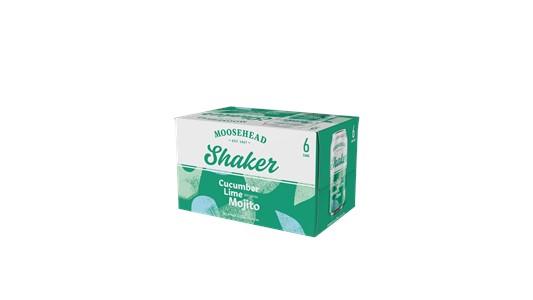 Wett Sales & Distribution 6C Moosehead Shaker Cucumber Lime Mojito 2130ml