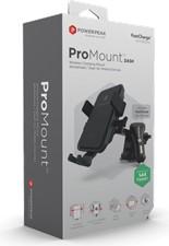 PowerPeak Wireless Car Mount - ProMount Dash for Windshield / Dash Mount + Vent Mount