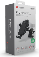 PowerPeak Wireless Car Mount - ProMount Dash for Windshield / Dash Mount + Vent Mount