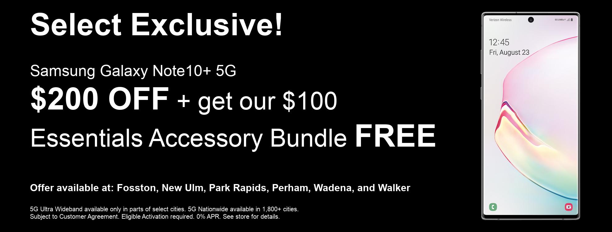 Samsung Galaxy Note 10+ 5G Exclusive Offer