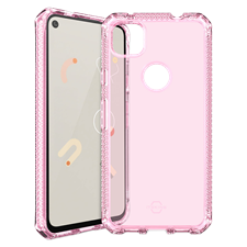 ITSKINS Pixel 4a Spectrum Clear Case