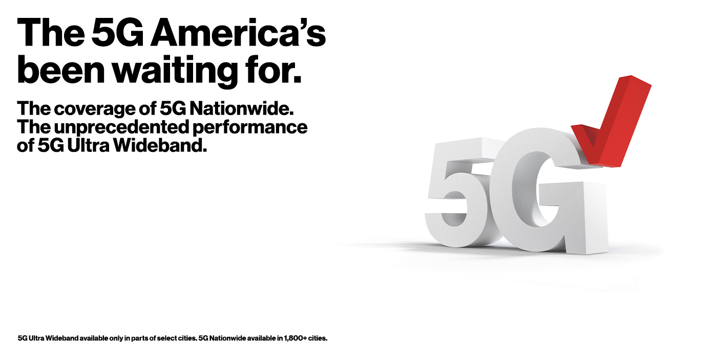 The 5G America's been waiting for.